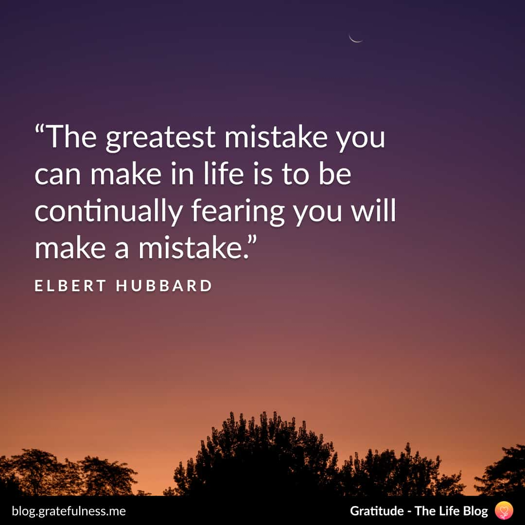 Growth mindset quote by Elbert Hubbard