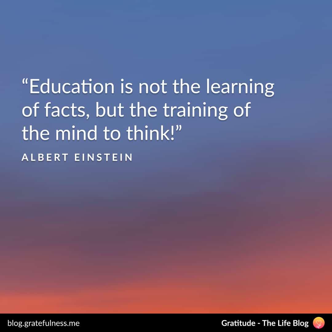 Growth mindset quote by Albert Einstein