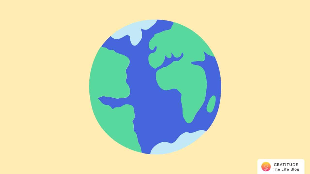 Illustration of planet earth